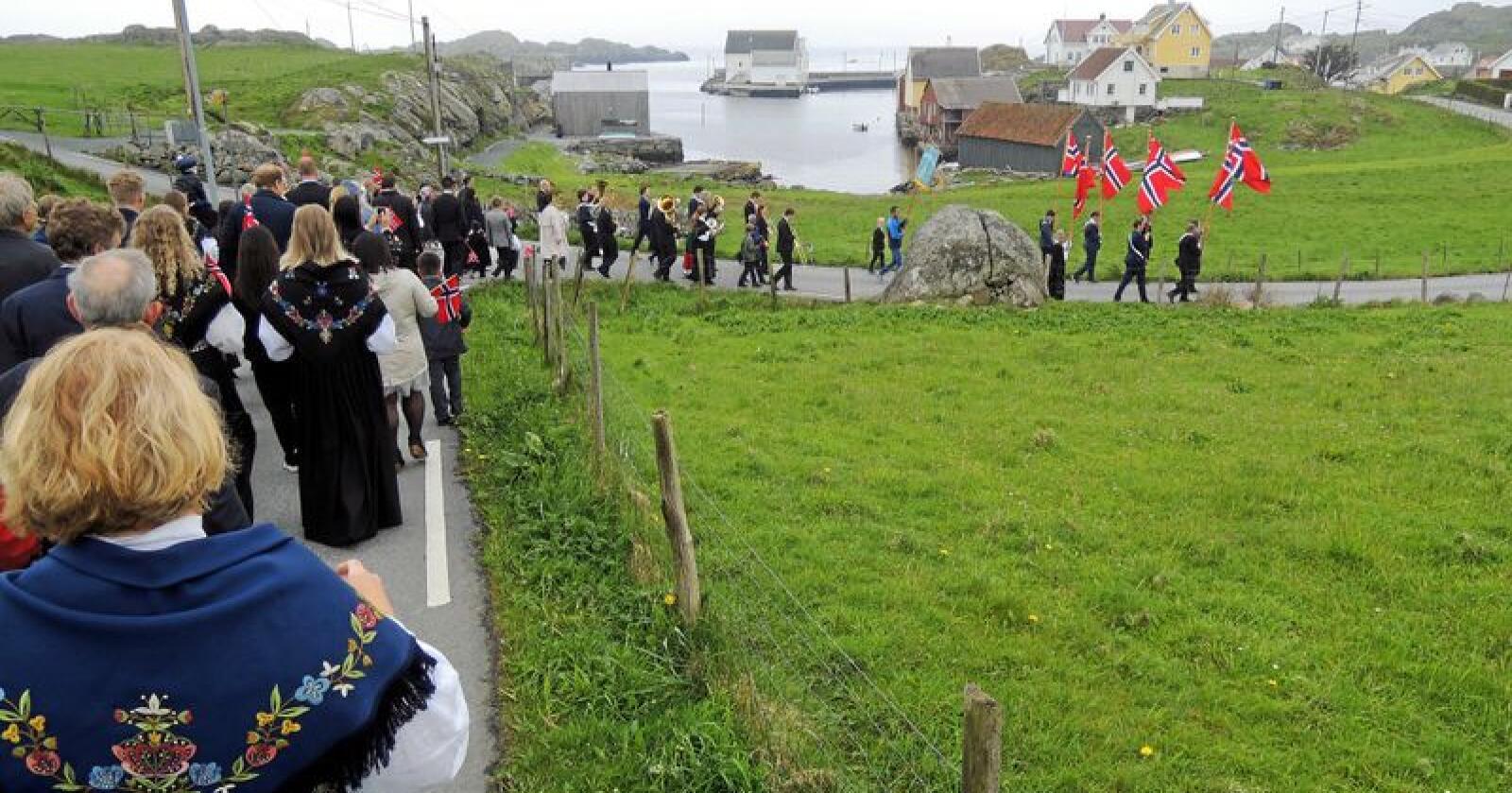 Norges minste - men langt fra kortest på Utsira