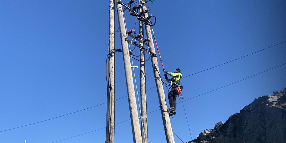 Nå har Haugaland Kraft doblet kapasiteten på Utsira